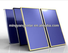 2013 High Quality Anodic Oxidation Flat Plate Solar Water Heater Collector