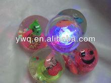 Glitter led water bouncy ball/Flashing boucing ball/Hi bouncing ball