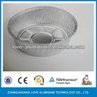 9 inch disposable deep aluminum foil pot pie container