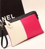 GF-J185 Ladies Designer Pink Leather Clutch bags Evening Bags