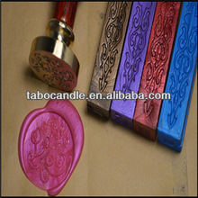 Northpole Official Seal/Santa- Wood Handle Stamp