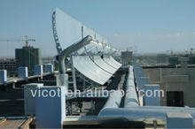 Central solar heating system