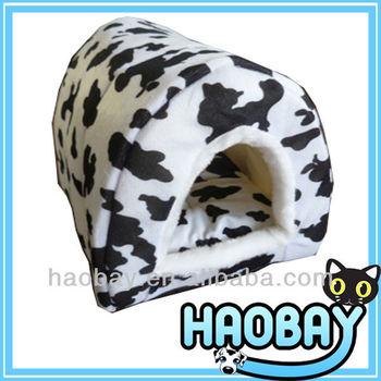 Dairy Cattle Cozy Soft Igloo Dog House