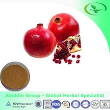 GMP factory supply pomegranate peel extract powder