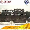 8-30 pulgadas disponible barato 100% la armadura del pelo humano en mayor