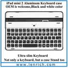 LBK131 2013 new arrival mini bluetooth keyboard for ipad mini with metal case