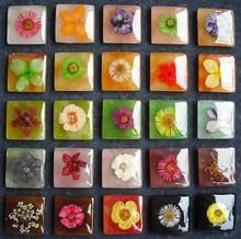 pressed flower earrings,pressed flower jewelry,Press Flower Pendant
