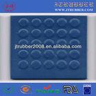 Natural rubber deck tile
