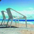 Beach lounge chaise en plastique( sp.- uc382)