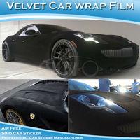 Newest Velvet Fabric Toyota Car Body Sticker 1.35X15M