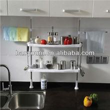 BAOYOUNI kitchen storage kitchen organizers diy closet storage 0777-19A
