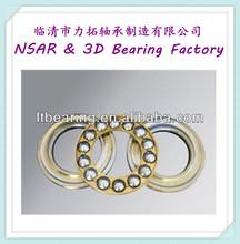 Brass cage thrust ball bearing 51128