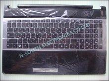 Wholesale price laptop touchpad palmrest keyboard for samsung rc530 black ru ba75-03201b