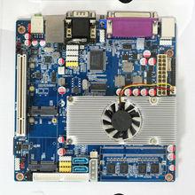 Mini-ITX Dual Core Motherboard CPU N550/N570/D510/N470 Onboard 1333Mhz DDR3 2G Memory