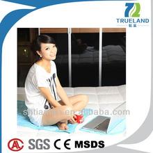 True Sleeper Memory Foam Mattress Topper Ice Mattress Made in China for Sleeping Better at Summer Night Cool Feeling