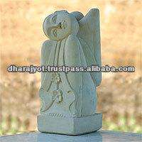 Beautiful Dreamer Hand Made Stone Sculpture Modern Art