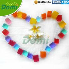 cubic crystal soils for decoration