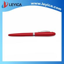 Red gift roller pen metal made