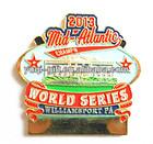 WORLD SERIES mid atlantic custom painting and soft enamel pin badge