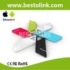 WK01 Bluetooth 4.0 BLE Aluminum Alloy Rectangle Two button Child GPS Child Locator Exterior Siren Alarm