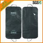 Reusable garment bag suit cover with logo