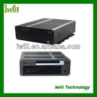 Iwill X8 pure aluminum mini itx rack case for Industrial pc