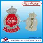 China Factory Custom Crown Lapel Pins,Crown Brooch Pins,Die Cut Crown Badges