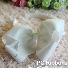 White big flower headband hair accessory