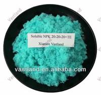 Common names chemical fertilizers npk 20-20-20