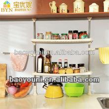 BAOYOUNI kitchen storage kitchen organizers diy closet storage DQ-0777-19A