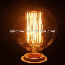 60W 125mm Mega Edison Antique Globe Light Bulb