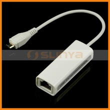 OEM Micro USB to Ethernet 5 Pin to RJ45 Network Adapter for Tablet