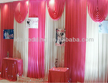 IDA stage indian wedding backdrops for event for the exhibition in Guangzhou