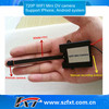 720P Wifi transmitter wireless 30fps audio video recording hidden spy camera,compatible with IOS, Android google system