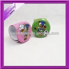 Custom Brazil's mascot gifts slap watch/pvc slap watch/slap on watch