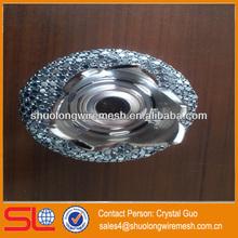 Hebei Factory wine bottle decorative metal cover,metal vase