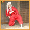 caliente única de ventas de alta calidad inuyasha sango traje de cosplay