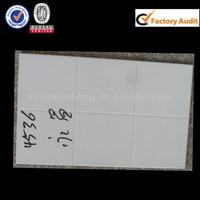 25x40cm template pure white ceramic wall tile