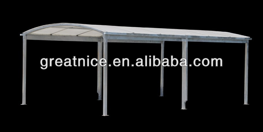 outdoor attached metal carport canopy design