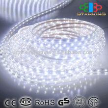 ROHS CE 100m/rolls 220V 4.4W/M BLUE led strip light -china