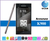 "Lenovo k900 mobile phone Intel Atom Z2580 quad core android 4.2 smart phone 5.5"" FHD IPS screen Lenovo smart phone"