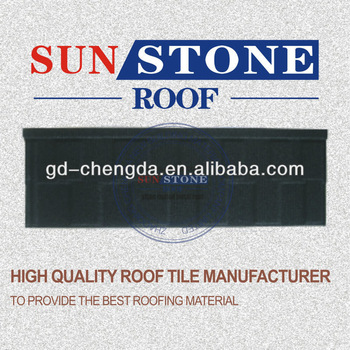 Wood Shingles Asphalt Roof Tiles Sheet / Metal Roofing Tiles