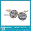Excellent Hotsale make custom enamel cufflinks