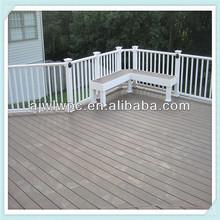 Plastic Outdoor Flooring/Veranda Decking Plastic Wood
