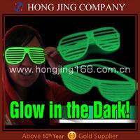 Glow in dark shutter shades sunglasses