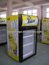 SC 46 mini bar fridge with glass door