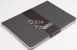 Magnetic slim book flip case for iPad 5 iPad air