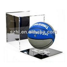 Customized acrylic basketball stand display box