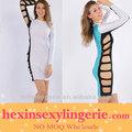 baratos plus size vestidos bandage atacado