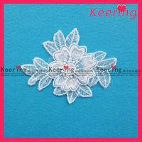 Bridal wedding flower laces motifs patches WLS-287